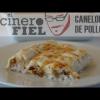 RECETA CANELONES DE POLLO