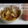 PATATAS CHIPS CON SALSA