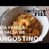 PASTA FRESCA CON SALSA DE LANGOSTINOS