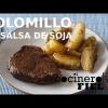 SOLOMILLO DE TERNERA EN SALSA DE SOJA