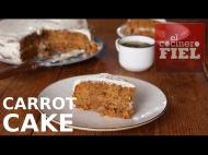 CARROT CAKE PARA LA VISTA