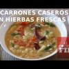 MACARRONES CASEROS CON HIERBAS FRESCAS