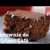El brownie de La López Café