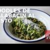 ZOODLES DE CALABACÍN AL PESTO & SORTEO