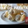 CONOS DE PURÉ DE PATATA COMO GUARNICIÓN O APERITIVO