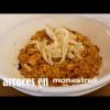Dos arroces en el Restaurante Monastrell de María José San Román