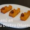 Un menú en Tatau Bistro (Huesca)