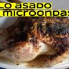 Cómo hacer pollo asado. Receta con microondas