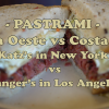 PASTRAMI: Costa Oeste vs Costa Este I Katz's en New York vs Langer's en Los Angeles