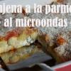 Cómo hacer berenjena a la parmesana al microondas
