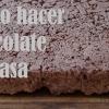 Cómo preparar chocolate en casa