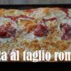 Pizza al taglio romana