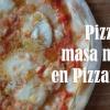 La pizza de masa madre de Pizzanista!