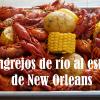 Cangrejos de río al estilo de New Orleans
