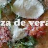 Pizza de verano o de temporada