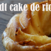 Bundt cake de ricotta
