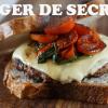 Burger de secreto y panceta de cerdo