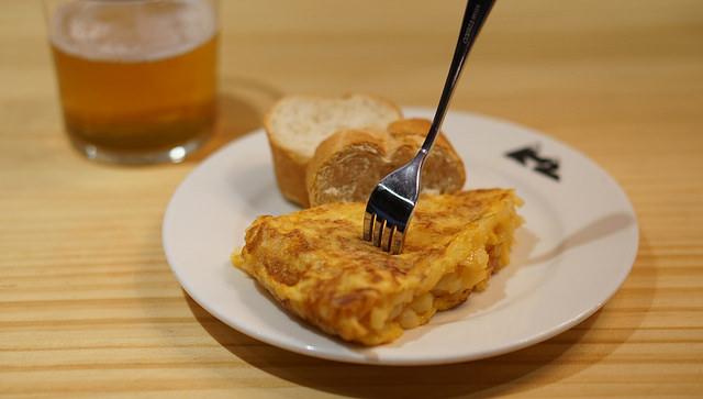 La mejor tortilla de patatas de Bilbao | El Cocinero Fiel